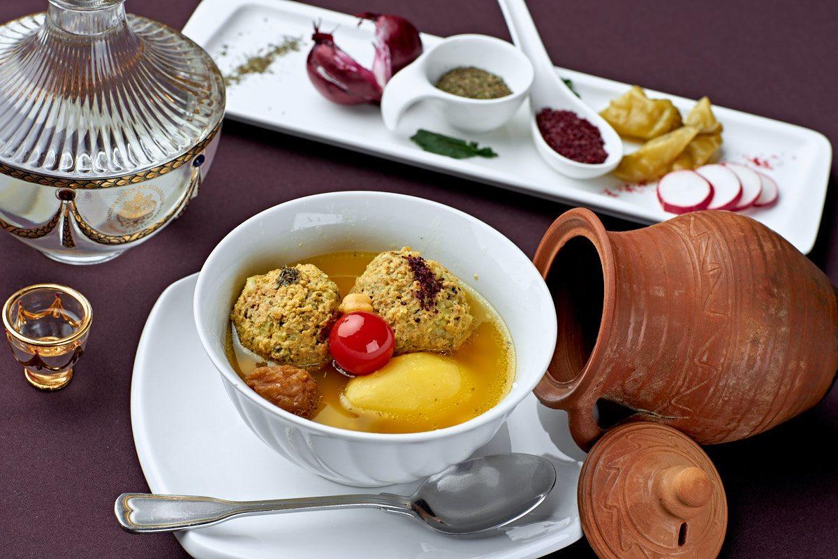 Азербайджанская кухня в ресторане Загородный Очаг в Одинцово